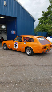 1970 Reliant Scimitar race car