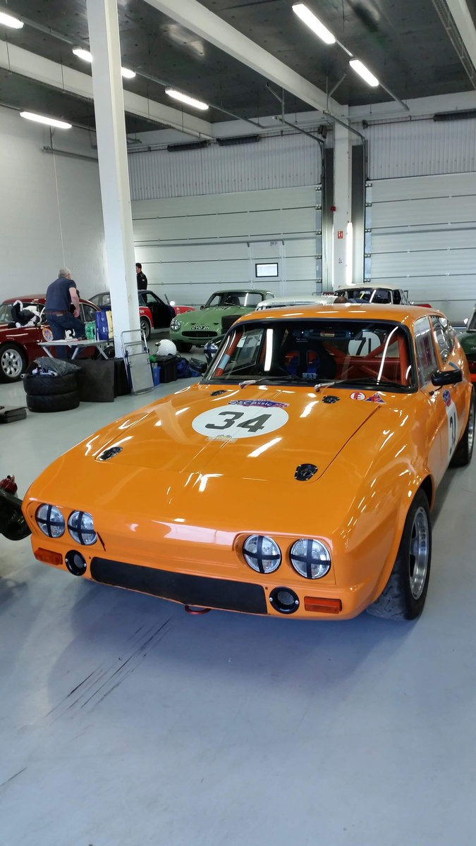 1970 Reliant Scimitar race car For Sale (picture 2 of 6)