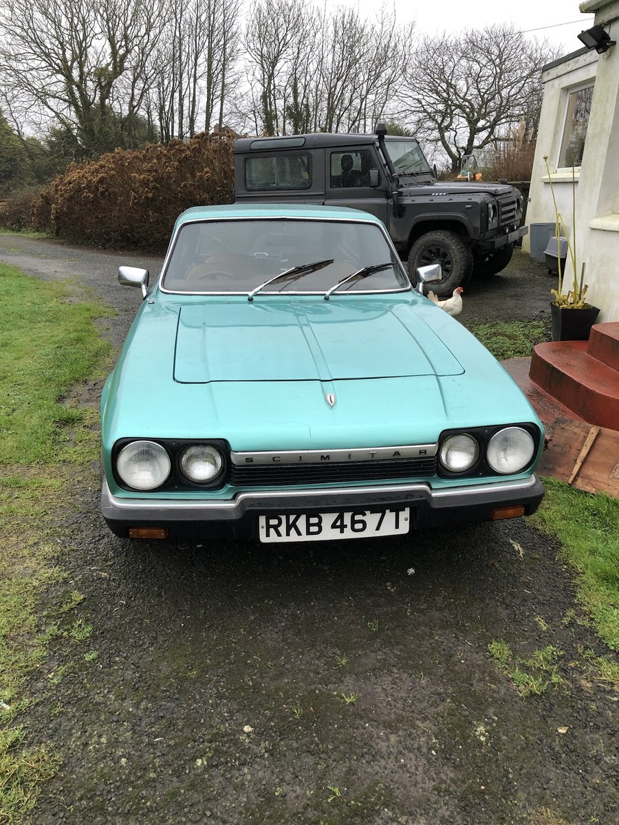 1978 Reliant Scimitar GTE V6 OVD TAX/MOT Exempt. For Sale (picture 1 of 6)