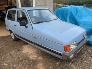 1990 Reliant Robin LX For Sale by Auction