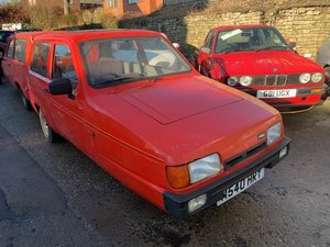 1995 Reliant Robin XL SOLD by Auction