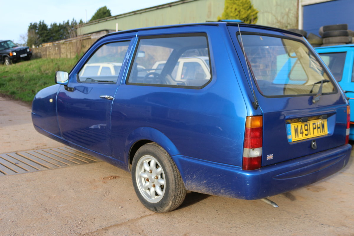 2000 Reliant Robin Royale threewheeler B1 Mk3  For Sale (picture 2 of 2)