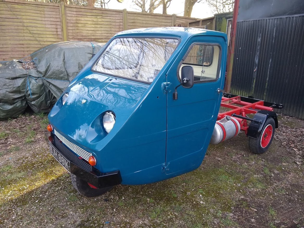 1971 Reliant Ant TW9 for auction 16th - 17th July For Sale by Auction (picture 1 of 6)