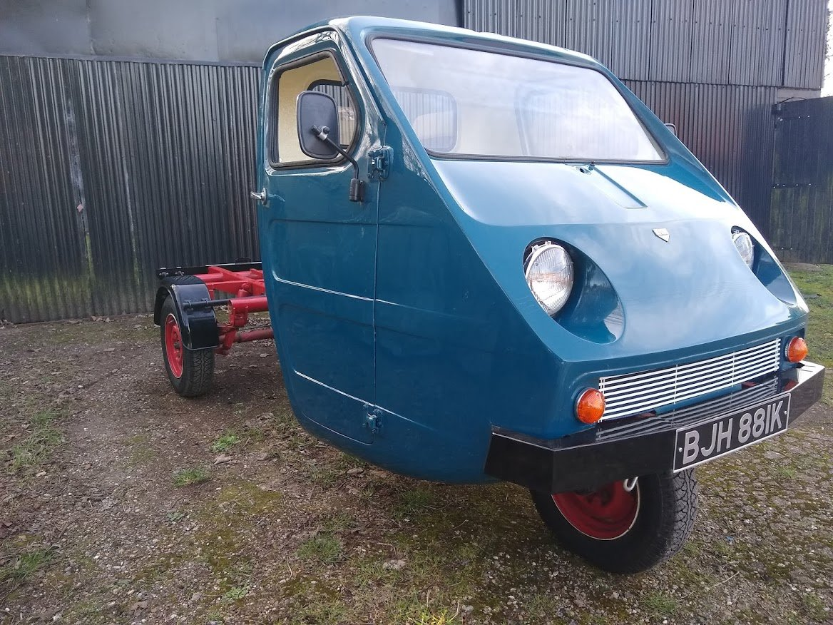 1971 Reliant Ant TW9 for auction 16th - 17th July For Sale by Auction (picture 3 of 6)