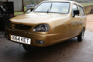 2000 Reliant Robin 65 gold damaged project rare  For Sale