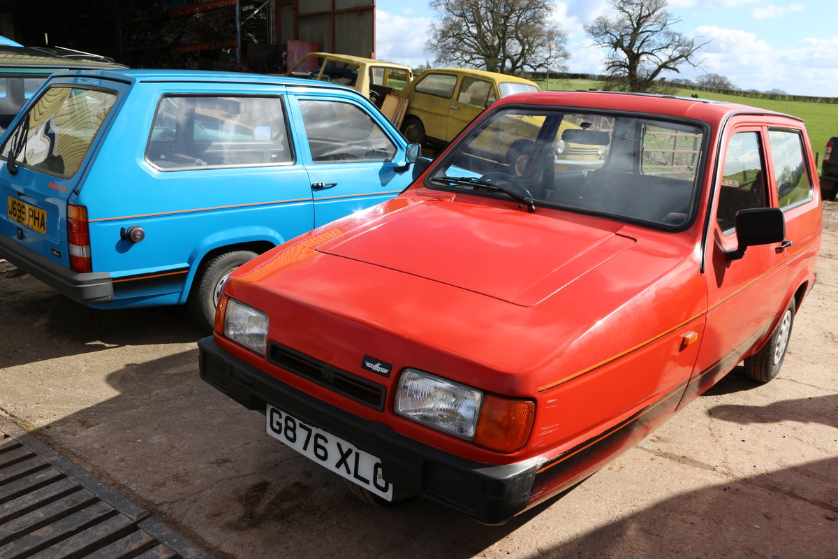 1995 Reliant Robin mk2 , low miles lady owner very clean b1 For Sale (picture 1 of 2)
