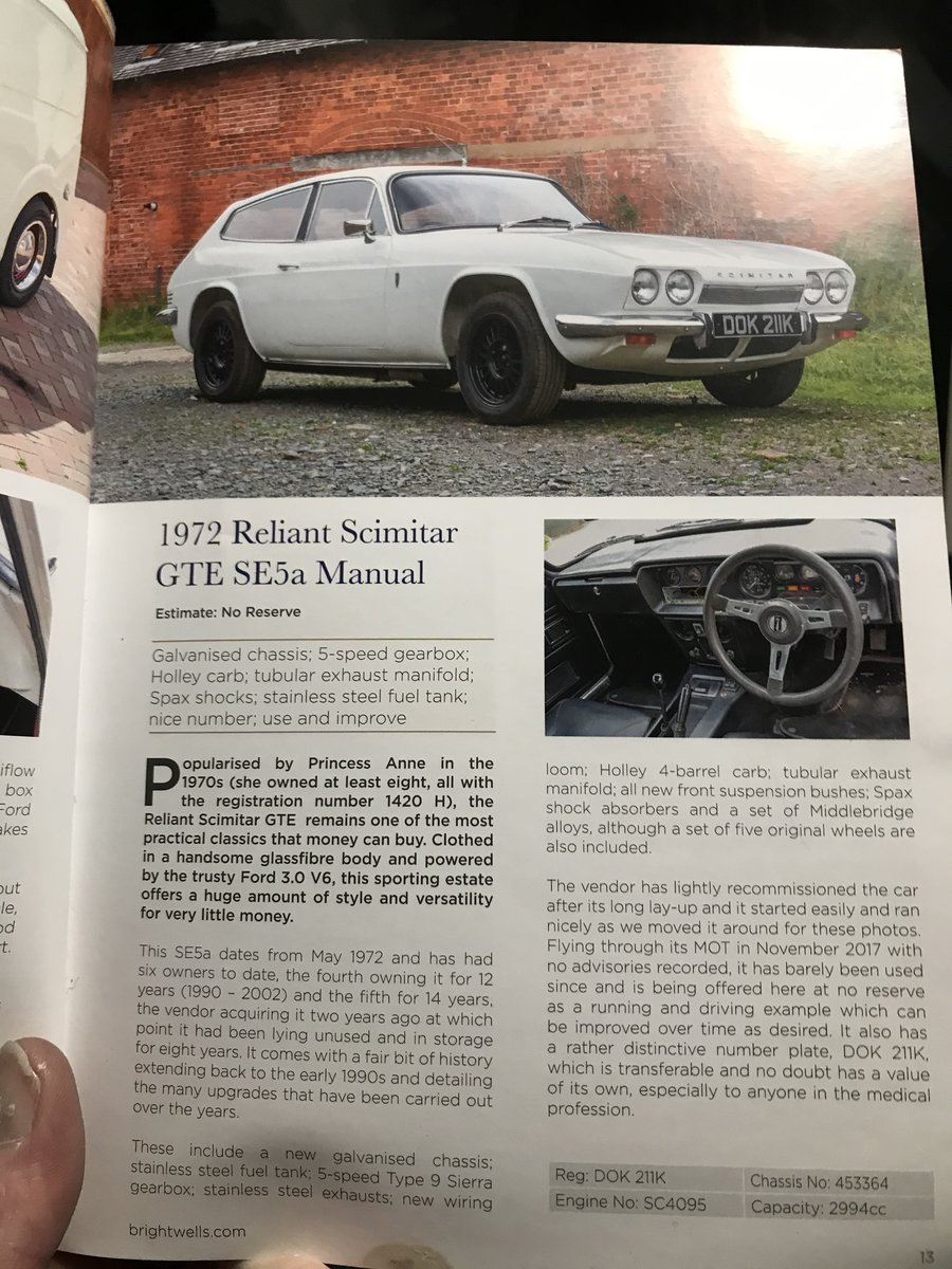 1972 Reliant scimitar gte For Sale (picture 6 of 6)