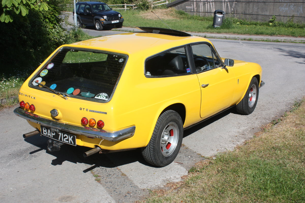 1971 Reliant Scimitar Se5a GTE SOLD (picture 3 of 6)