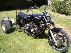 Reliant Trike built by Jezz Louise