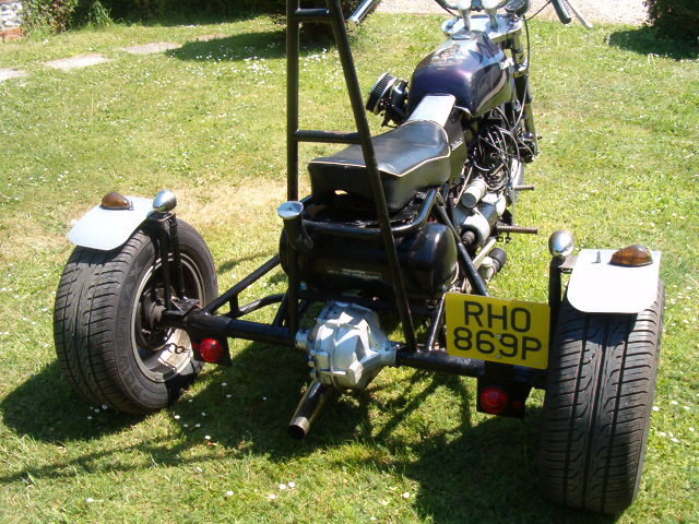 1976 Reliant Trike built by Jezz Louise For Sale (picture 2 of 4)