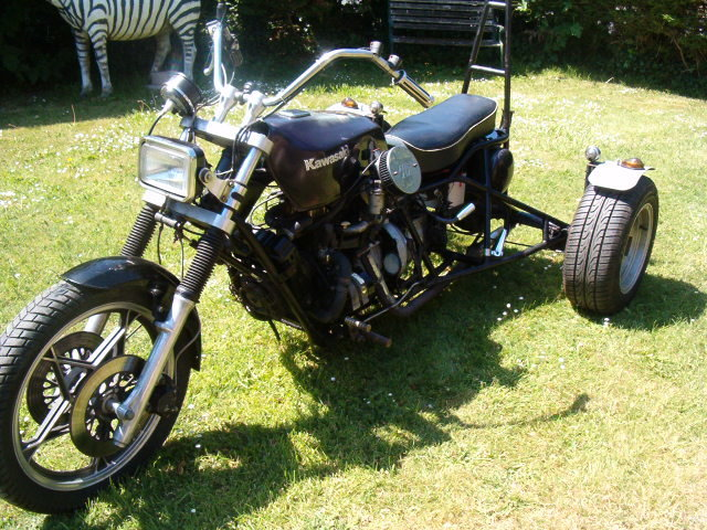 1976 Reliant Trike built by Jezz Louise For Sale (picture 3 of 4)