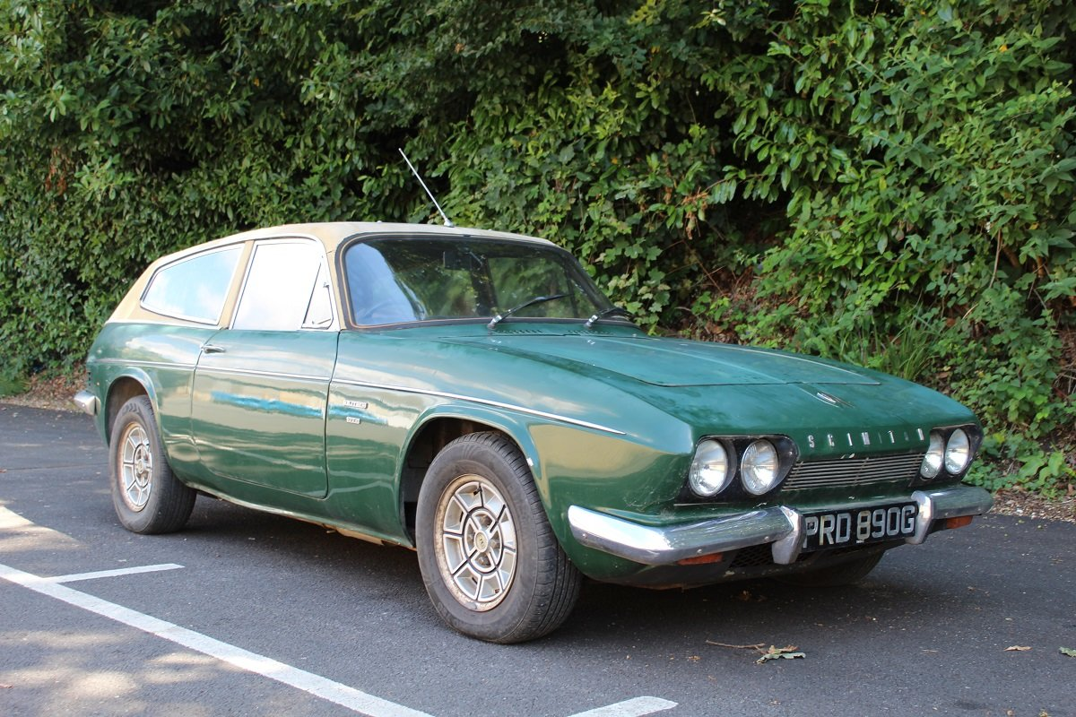Reliant Scimitar GTE 1969 - To be auctioned 30-10-20 For Sale by Auction (picture 1 of 6)