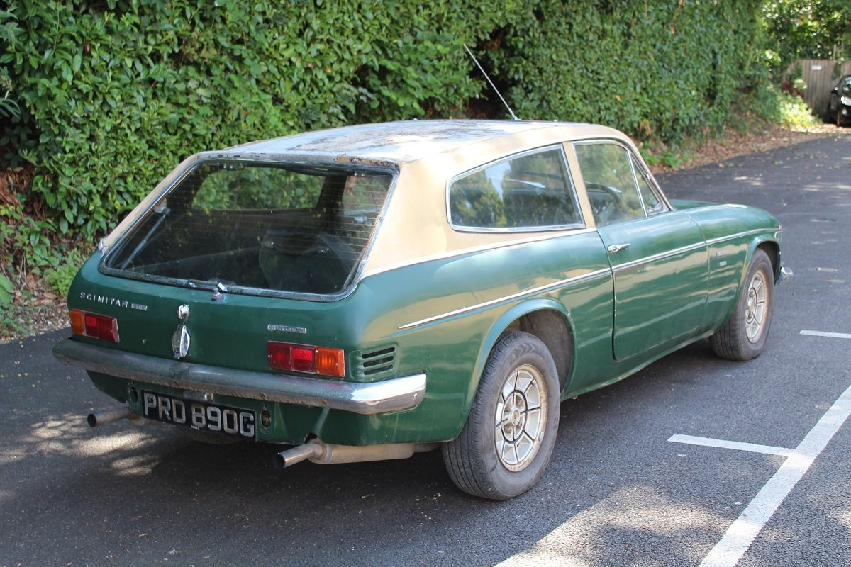 Reliant Scimitar GTE 1969 - To be auctioned 30-10-20 For Sale by Auction (picture 2 of 6)