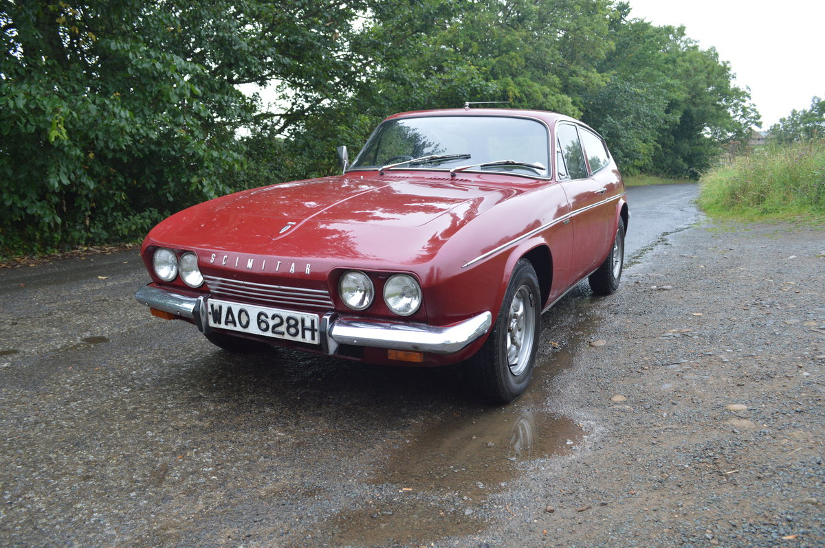 1970 Reliant Scimitar GTE SE5 Manual O/D SOLD (picture 1 of 6)