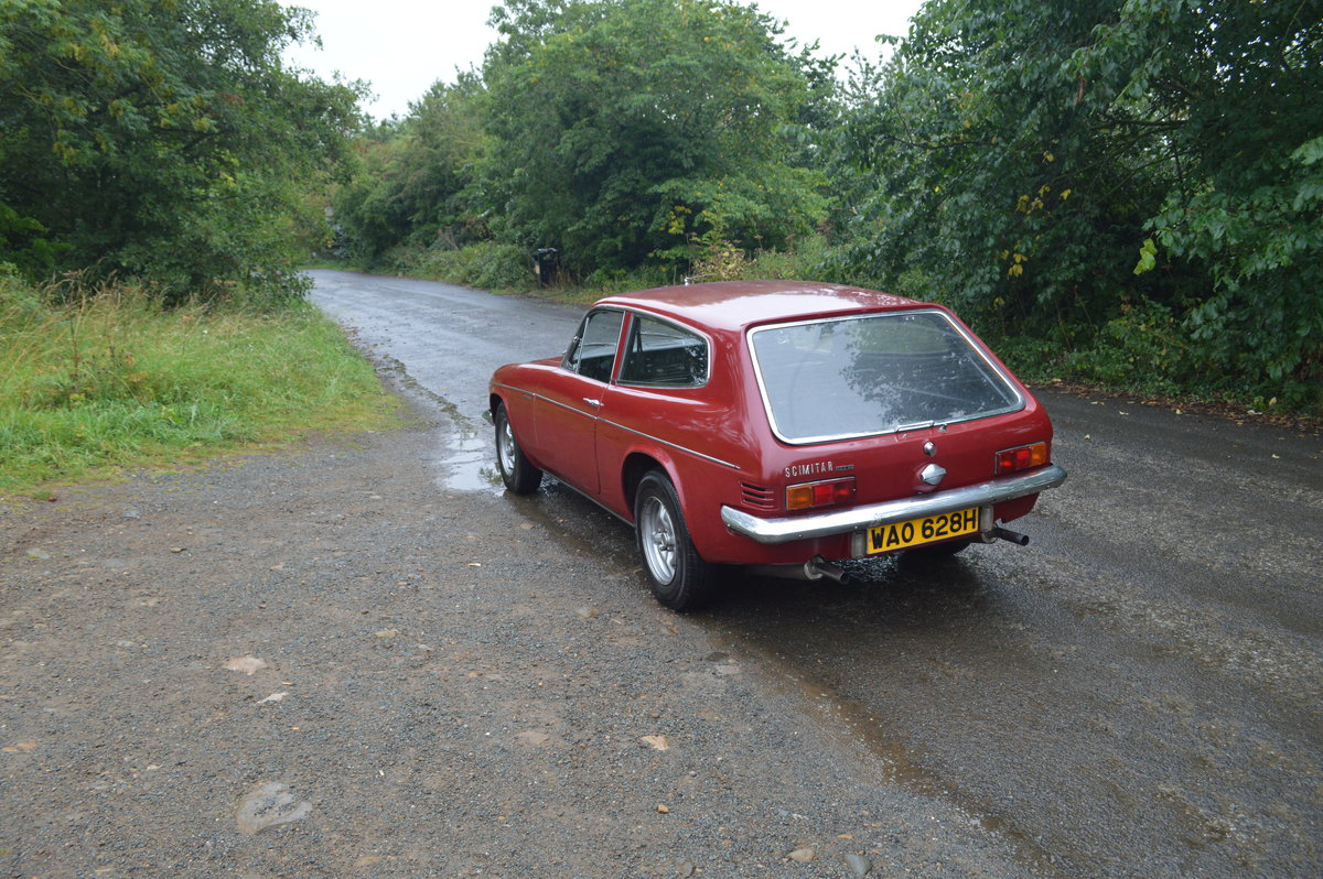 1970 Reliant Scimitar GTE SE5 Manual O/D SOLD (picture 2 of 6)