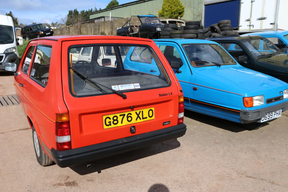 1995 Reliant Robin mk2 , low miles lady owner very clean b1 For Sale (picture 2 of 2)