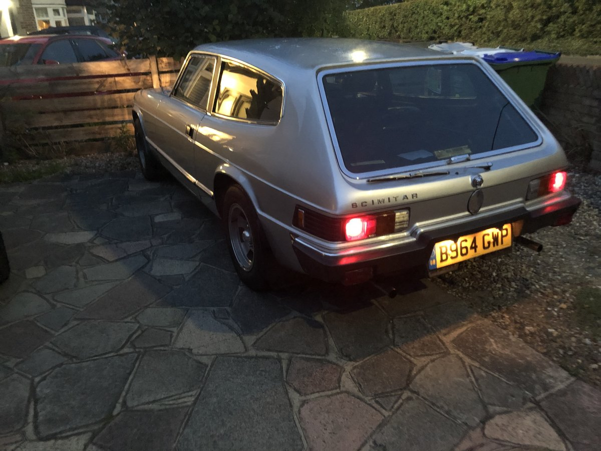 1984 Scimitar Manual with overdrive For Sale (picture 5 of 5)