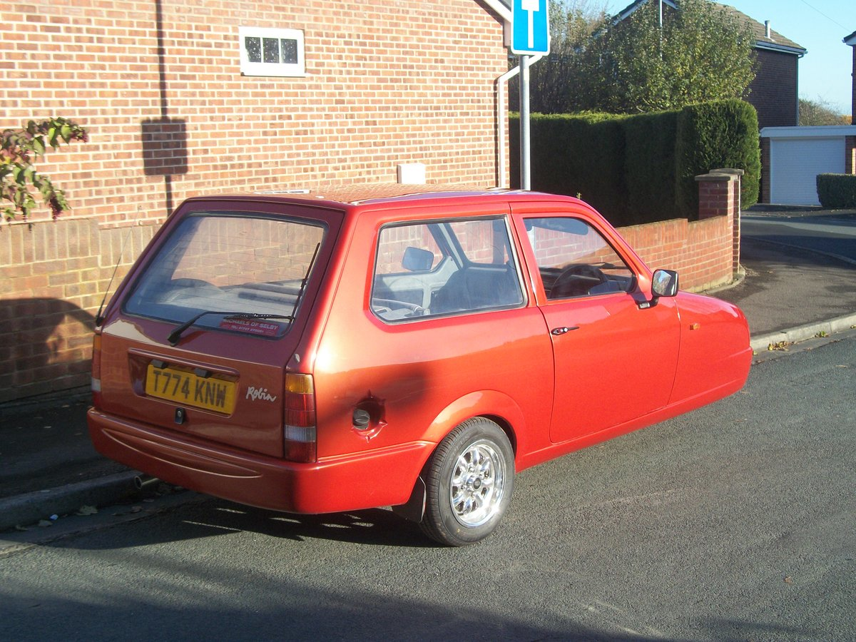 1999 Reliant Robin SLX For Sale (picture 4 of 6)