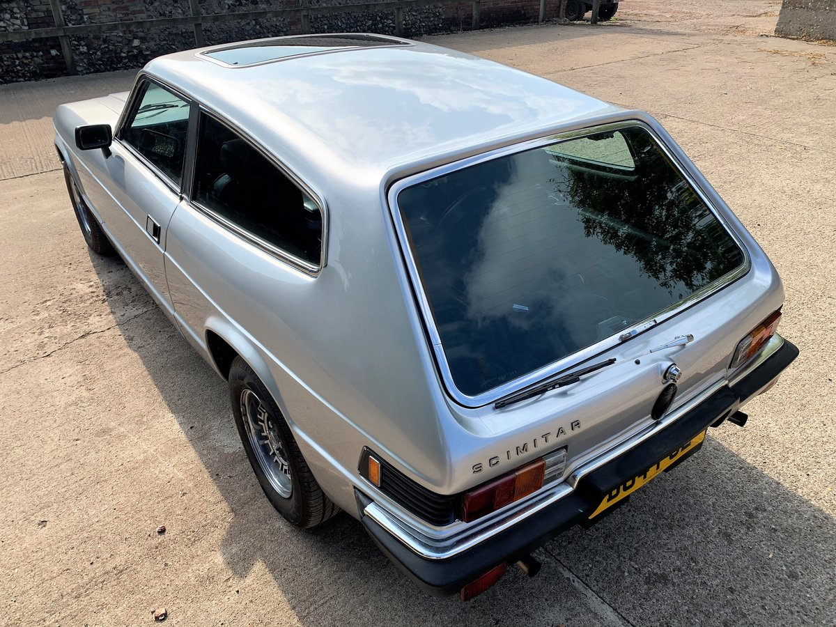 lovely 1985 Scimitar GTE SE6b automatic SOLD (picture 6 of 12)