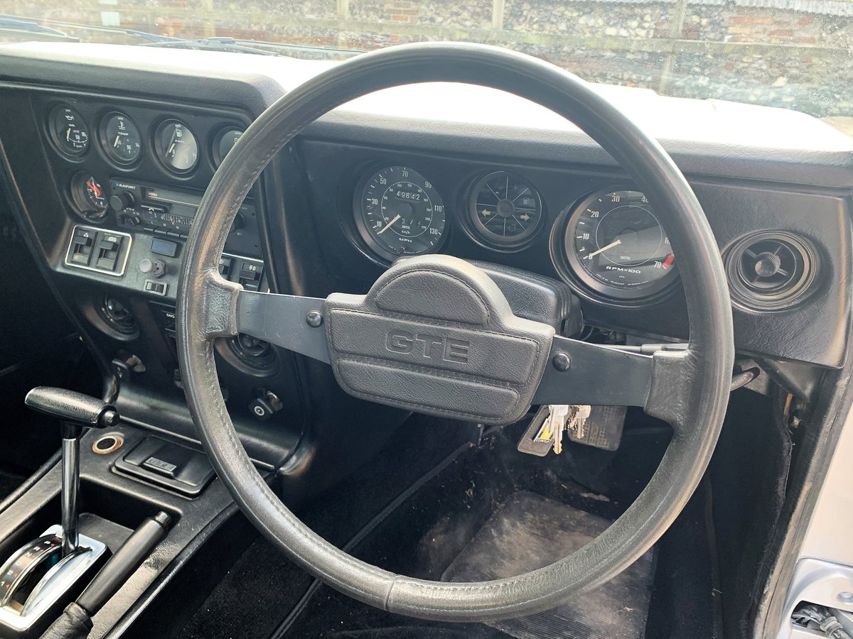 lovely 1985 Scimitar GTE SE6b automatic SOLD (picture 12 of 12)