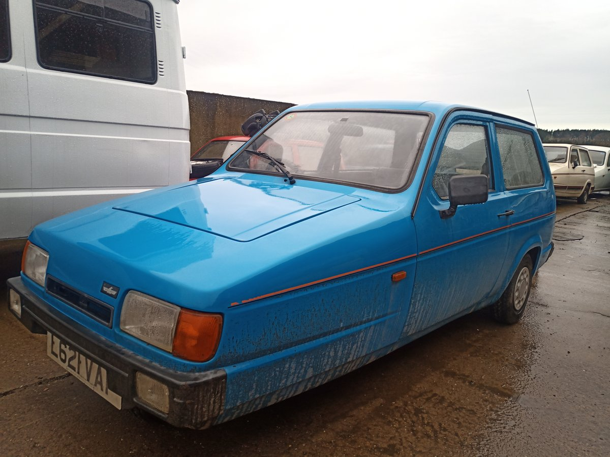 1996 Reliant Robin mk2 Robin low miles three wheeler For Sale (picture 1 of 4)