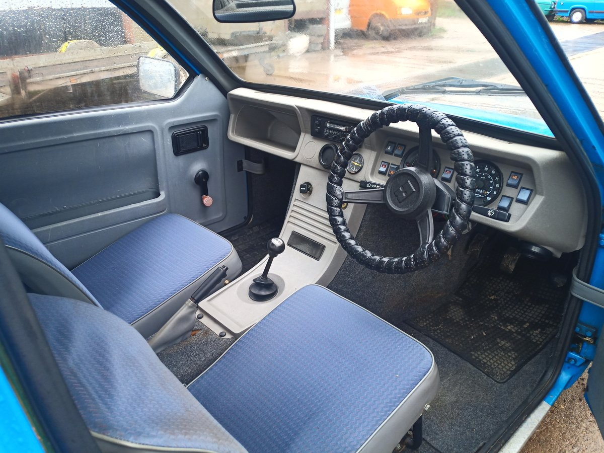1996 Reliant Robin mk2 Robin low miles three wheeler For Sale (picture 4 of 4)