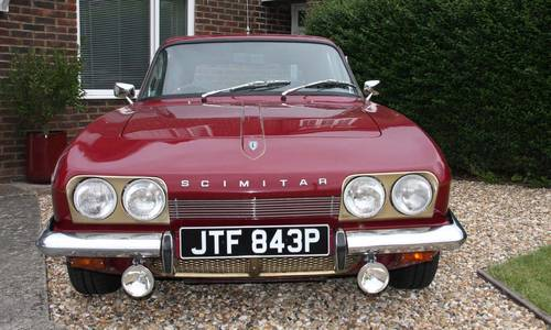 1975 Reliant Scimitar GTE with Overdrive SOLD (picture 3 of 6)