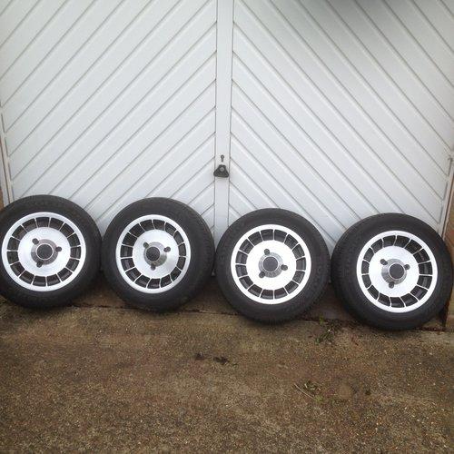 1980 Four genuine original gordini alloy wheels  For Sale (picture 5 of 6)