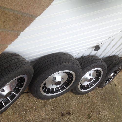 1980 Four genuine original gordini alloy wheels  For Sale (picture 6 of 6)
