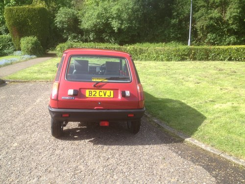 1985 Renault 5 le car 2 1108cc For Sale (picture 1 of 6)