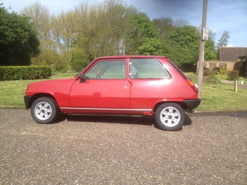 1985 Renault 5 le car 2 1108cc For Sale (picture 2 of 6)