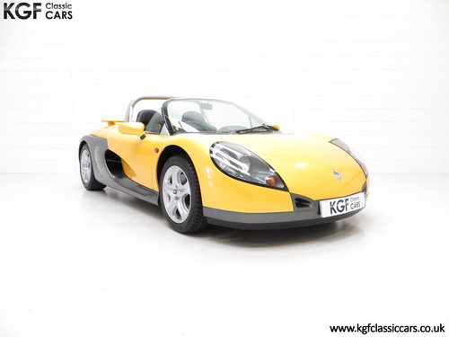 1998 One of 100 UK RHD Renault Sport Spiders with 2,528 Miles SOLD (picture 1 of 6)