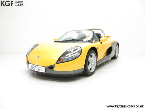 1998 One of 100 UK RHD Renault Sport Spiders with 2,528 Miles SOLD (picture 2 of 6)