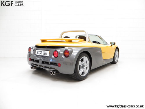 1998 One of 100 UK RHD Renault Sport Spiders with 2,528 Miles SOLD (picture 5 of 6)