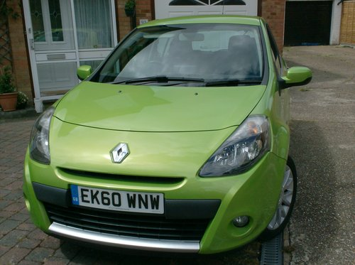 Renault Clio 1.2T 16v 2011 Dynamique Tom Tom TCE For Sale (picture 1 of 6)
