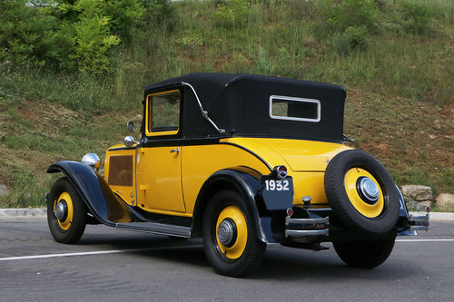 1932 Renault PRIMASTELLA 6 cyl. For Sale (picture 3 of 6)