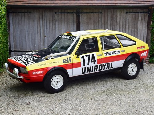 1981 The famous Paris-Dakar Renault 20 Turbo 4x4 For Sale (picture 1 of 6)