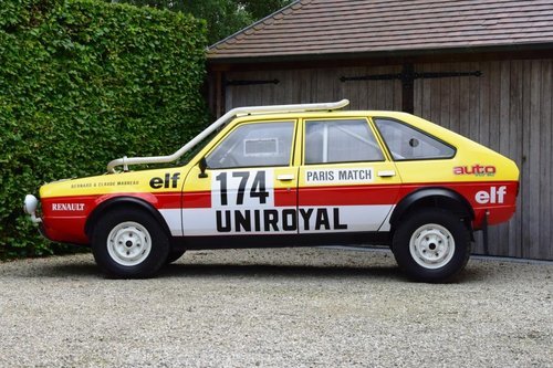 1981 The famous Paris-Dakar Renault 20 Turbo 4x4 For Sale (picture 2 of 6)