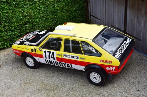 1981 The famous Paris-Dakar Renault 20 Turbo 4x4 For Sale (picture 3 of 6)