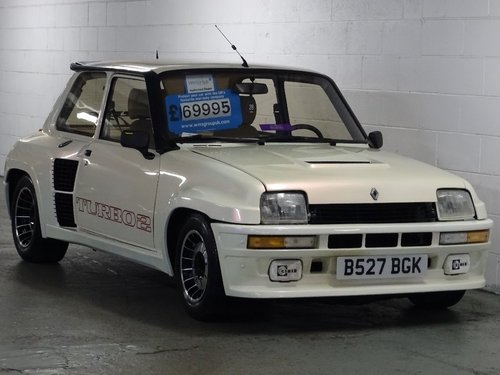 1984 Renault 5 1.4 Gordini 3dr GT TURBO 2 LHD For Sale (picture 1 of 6)