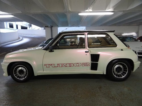 1984 Renault 5 1.4 Gordini 3dr GT TURBO 2 LHD For Sale (picture 2 of 6)