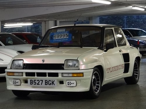 1984 Renault 5 1.4 Gordini 3dr GT TURBO 2 LHD For Sale (picture 4 of 6)