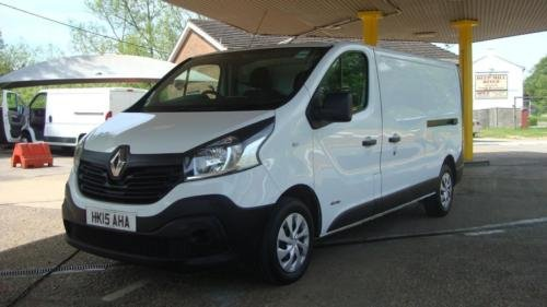 2015 RENAULT TRAFIC 1.6 DCI LL29 [115] LWB Business Van For Sale (picture 2 of 6)
