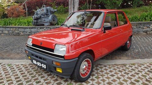 1983 Renault 5 Alpine Turbo  -  Original For Sale (picture 2 of 6)