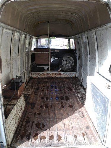 1976 RENAULT ESTAFETTE LONG AND HIGH ROOF MODEL For Sale (picture 5 of 6)