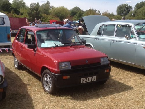 1985 Renault 5 le car 2 1108cc For Sale (picture 6 of 6)