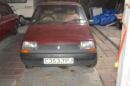 1986 Renault 5 TL For Sale (picture 1 of 6)