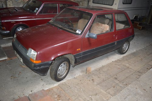 1986 Renault 5 TL For Sale (picture 2 of 6)