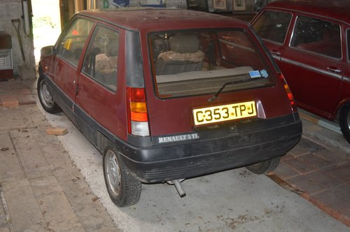 1986 Renault 5 TL For Sale (picture 3 of 6)