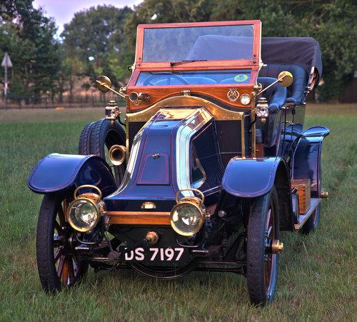 1910 Renault Type BY 5 litre Rois Des Belges Tourer SOLD (picture 1 of 6)